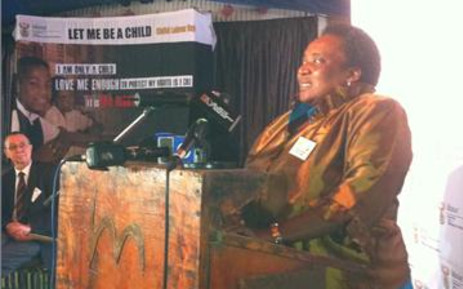 Labour Minister Mildred Oliphant. Picture: Regan Thaw/Eyewitness News