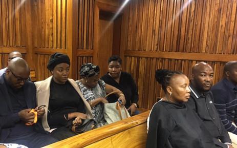 Jabulani 'HHP' Tsambo's partner Lerato Sengadi in court on 02 November 2018. Picture: Kgomotso Modise/EWN.