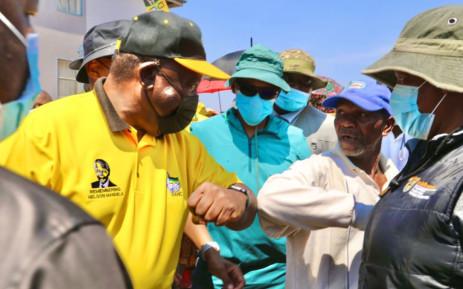 ANC president Cyril Ramphosa. Picture: @MYANC/Twitter.