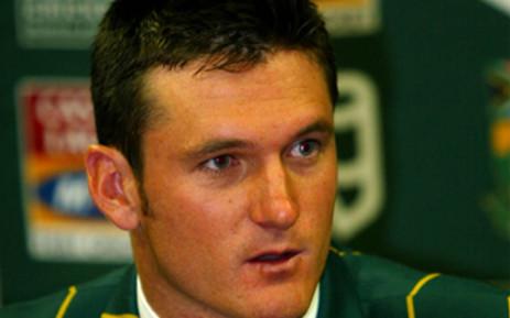 SA cricket captain Graeme Smith. Picture: Werner Beukes/SAPA