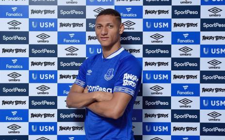 New Everton recruit Richarlison. Picture: @Everton/Twitter