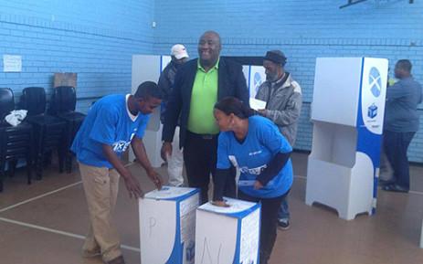 FILE: Patriotic Alliance president Gayton Mckenzie casts his vote in Cape Town. Picture: Facebook.