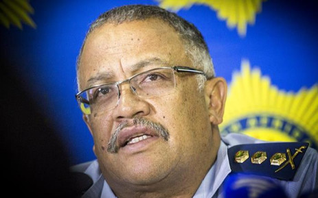 FILE: Western Cape Police Commissioner Arno Lamoer. Picture; Thomas Holder/EWN