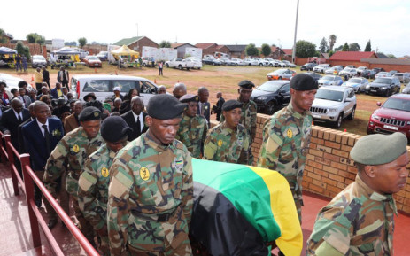 The ANC's Khabisi Mosunkutu is laid to rest on 3 January 2019. @GautengANC/Twitter