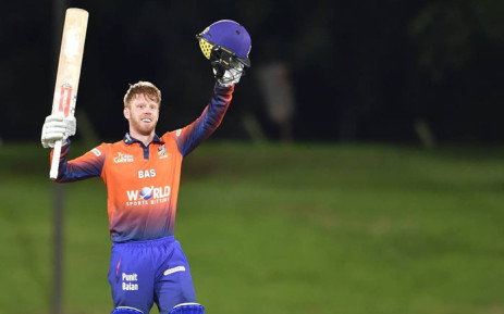 Cape Cobras batsman Kyle Verreynne celebrates his hundred during the One-Day Cup match against the Knights on 19 February 2019. Picture: @CobrasCricket/Twitter