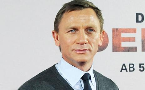 British Actor Daniel Craig. Pictures: AFP
