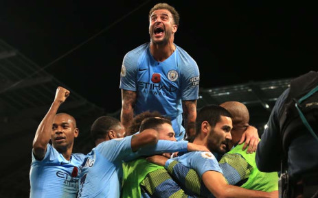 Bernardo Silva and Leroy Sane struck for the visitors in 12 second-half minutes at Old Trafford to inflict a seventh defeat in nine games on United, who remain three points adrift of the top four. Picture: AFP