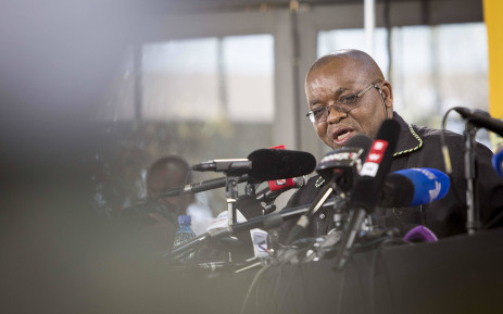 Gwede Mantashe makes his last press briefing as the party's secretary general at #ANC54 on 18 December 2017. Picture: Thomas Holder/EWN