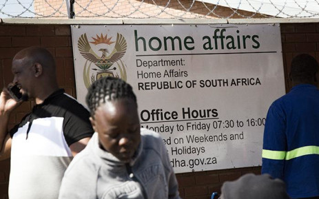 FILE: Department of Home Affairs. Picture: Sethembiso Zulu/EWN