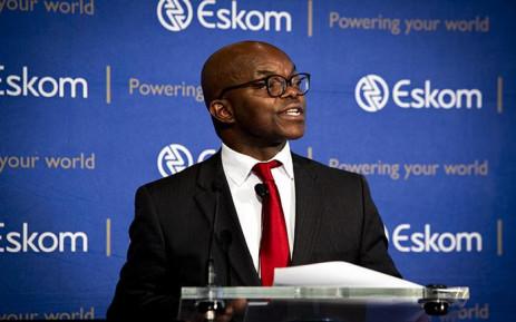 FILE: Eskom CEO Phakamani Hadebe. Picture: Kayleen Morgan/EWN