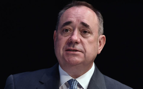 FILE: Former Scottish leader Alex Salmond. Picture: AFP