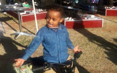FILE: Four-year-old Taegrin Morris was killed after being dragged behind his parent's hijacked vehicle in Reiger Park, Boksburg, on 19 July 2014. Picture: Supplied.