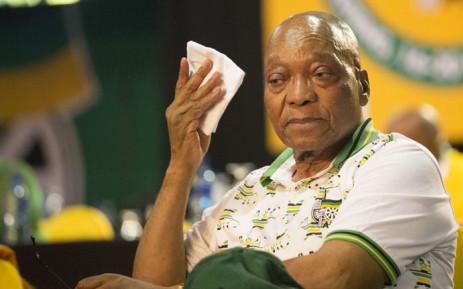 FILE: Former ANC President Jacob Zuma on 18 December 2017. Picture: Sethembiso Zulu/EWN.