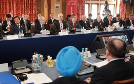 The world's leading finance ministers at the G20 summit in London on 14 March 2009. Picture: Gallo Images/Getty Images