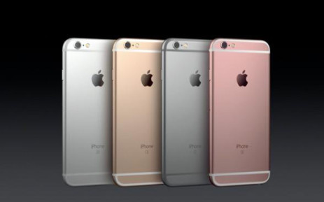 The new iPhone 6s. Picture: Supplied.