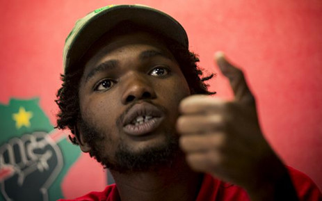 EFF Student Command says the government of South Africa has failed young people for the last 23 years of democracy. Picture: Sethembiso Zulu/EWN