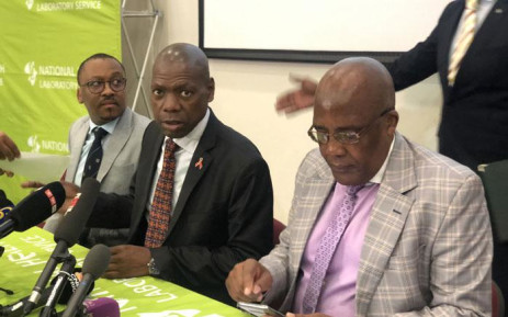 Health Minister Zweli Mkhize briefed the media on South Africa's readiness to deal with the coronavirus outbreak that started in China and spread to several other countries on 29 January 2020. Picture: @DrZweliMkhize/Twitter
