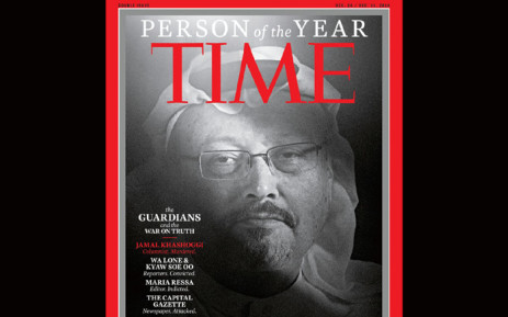 Saudi journalist Jamal Khashoggi made it to 'Time' magazine Person of the Year. Picture: @TIME/Twitter.