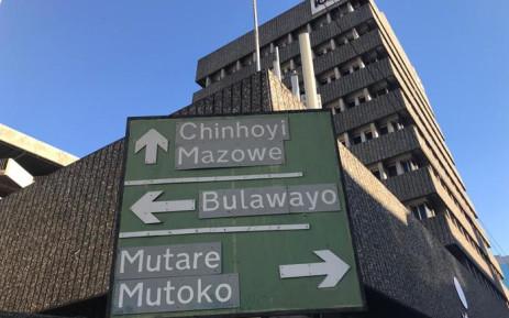 FILE: A signboard in Harare, Zimbabwe. Picture: Masechaba Sefularo/EWN.