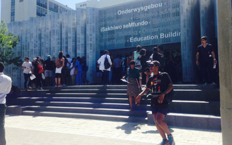 FILE: Stellenbosch University students. Picture: Shamiela Fisher/EWN.