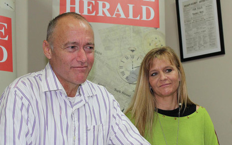 FILE: Daniel Janse van Rensburg and his wife Melanie spoke to media after he was released from the Black Beach Prison in Equtorial Guinea. Picture: Tanya Watson/Group Editors Online.