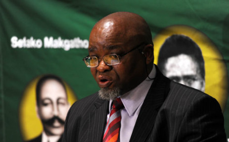 ANC Secretary General Gwede Mantashe says the ANC won't be brought into the fray on the allegations against Cosatu General Secretary Zwelinzima Vavi until it knows the facts. Picture: Sapa