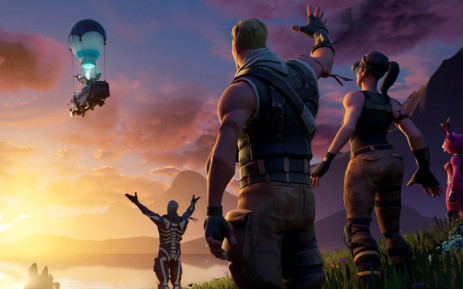 Characters from the Fortnite game. Picture: @FortniteGame/Twitter