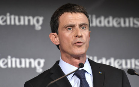 French Prime Minister Manuel Valls. Picture: AFP.