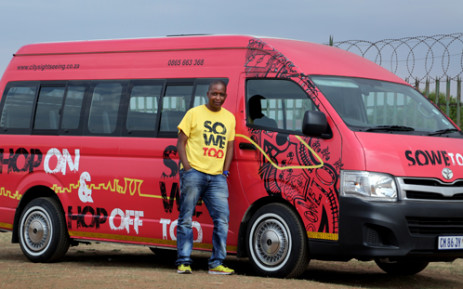 Kgomotso Pooe is an entrepreneur who, through his dynamic Soweto Tours, hopes to change the way people experience the township. Picrture: Sebabatso Mosamo/EWN