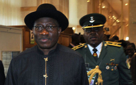 FILE: Goodluck Jonathan's presidency will be contested in the upcoming elections. Picture: AFP.""
