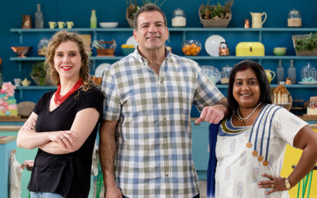 Finalists of 'The Great South African Bake Off': Desmond Solomon, Simmi Ramnarian and Bianca Breytenbach. Picture: Supplied.