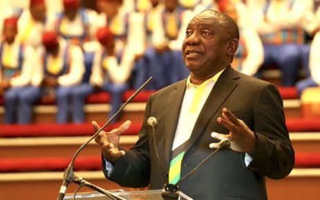 FILE: President Cyril Ramaphosa. Picture: @CyrilRamaphosa/Twitter.