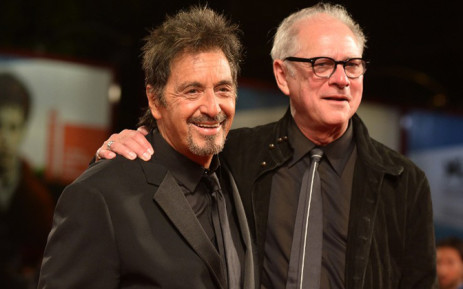 US actor Al Pacino and US director Barry Levinson arrive for the screening of the movie 'The Humbling' presented out of competition at the 71st Venice Film Festival on 30 August, 2014 at Venice Lido. Picture: AFP.