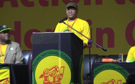 Sports Minister Fikile Mbalula. Picture: Kgothatso Mogale/EWN.