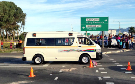 FILE:Five people have been shot and wounded in the latest taxi violence incident in Cape Town. Picture: Rahima Essop/EWN.