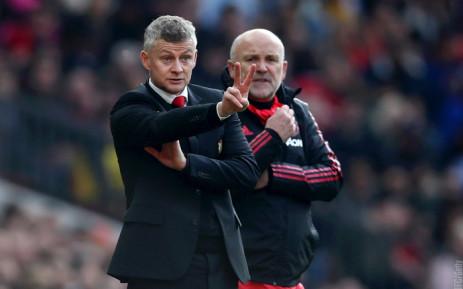 FILE: Manchester United manager Ole Gunnar Solskjaer (left). Picture: @ManUtd/Twitter