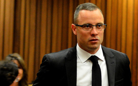 Oscar Pistorius at the High Court in Pretoria on 5 May 2014. Picture: Pool.