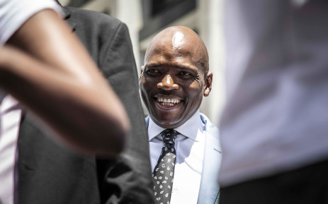 Former SABC COO Hlaudi Motsoeneng at the Johannesburg High Court on 6 December 2018 to oppose SABC's decision to withhold his pension fund. Picture: Abigail Javier/EWN