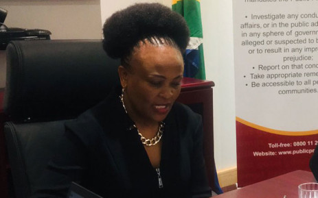 FILE: Public Protector Busisiwe Mkhwebane. Picture: @PublicProtector/Twitter