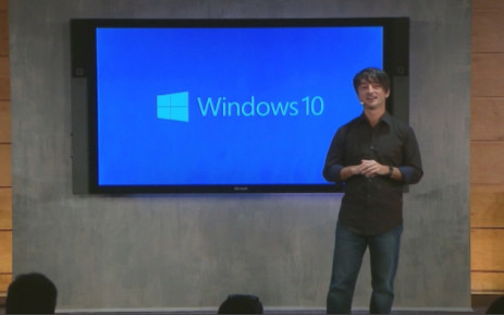FILE: New Windows 10 operating system being explained. Picture: CNN screengrab.