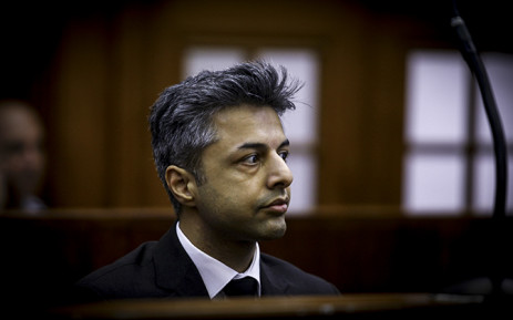 Shrien Dewani in the dock at Cape Town High Court. Picture: Thomas Holder/EWN.