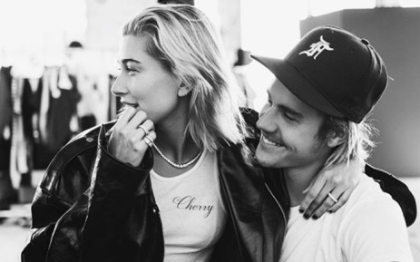 Justin Bieber with fiancée Hailey Baldwin. Picture: @justinbieber/Instagram.