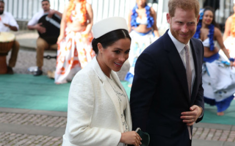 FILE: Duke and Duchess of Sussex Meghan and Prince Harry. Picture: Twitter/@kensingtonroyal.