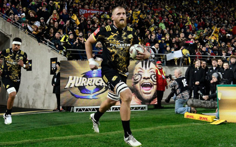 Loose forward Brad Shields. Picture: AFP