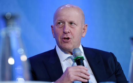 """In this file photo Goldman Sachs CEO David Michael Solomon speaks during a discussion on """"Women Entrepreneurs Through Finance and Markets"""" at the World Bank on October 18, 2019 in Washington, DC. Picture: Olivier Douliery / AFP."""