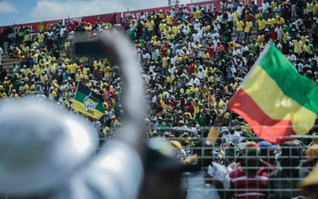 ANC supporters at the party's 108th birthday celebration on 11 January 2020 in Kimberley. Picture: Sethembiso Zulu/EWN