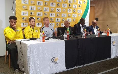 Bafana Bafana arrived back in South Africa on 13 July. Picture: @BafanaBafana/Twitter.