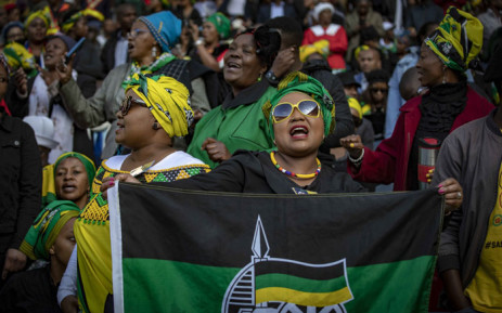 Mourners have gathered inside the Orlando Stadium for Winnie Madikizela Mandela's funeral. Thomas Holder/EWN