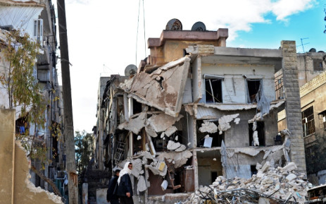 FILE: Eight of the civilians killed were children and five were women, the Observatory said. Picture: EPA.