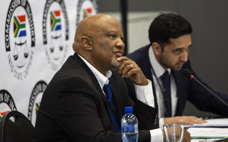 Former Deputy Finance Minister Mcebisi Jonas at the state capture inquiry on 24 August 2018.  Picture: Christa Eybers/EWN